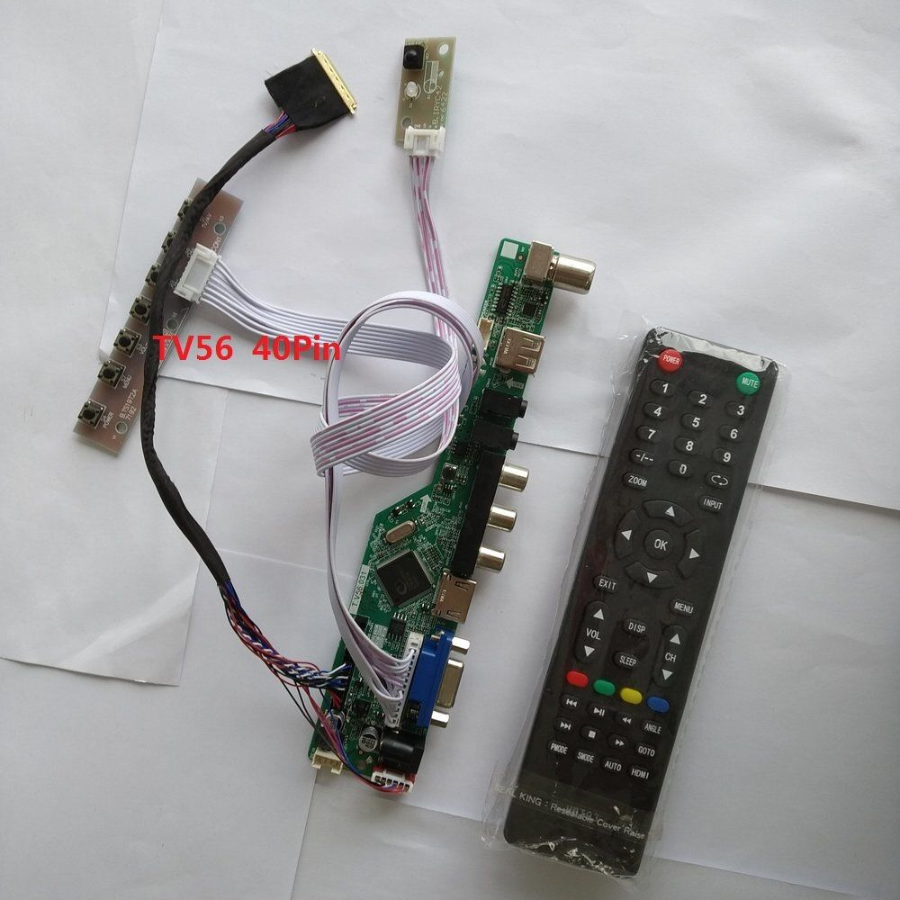 Kit for  LP154WP2 A3 TV+HDMI+VGA+USB LCD LED screen Controller Driver Board TL