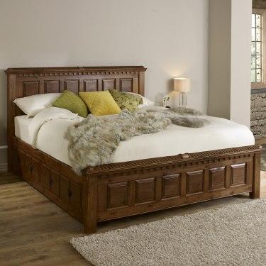Handmade Wooden Beds Solid Oak Frames By Revival Beds Bed