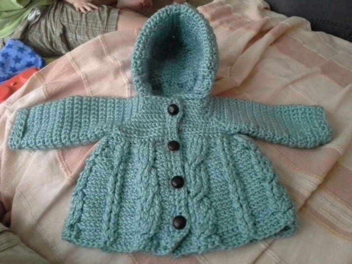 My daughter crocheted this for her son due in July. Proud mummy/Grammy moment.
