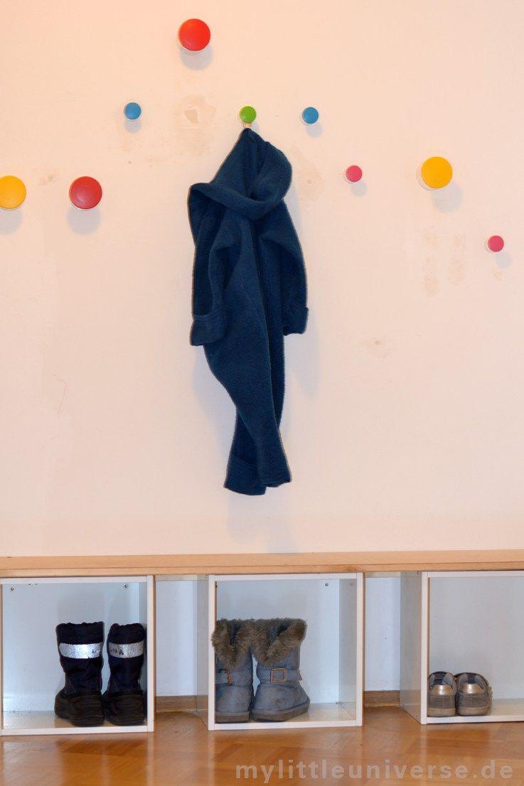 Verschiedene Garderobenhaken Kinderzimmer Dekoration Von Kindergarderobe Diy Ikea Hack