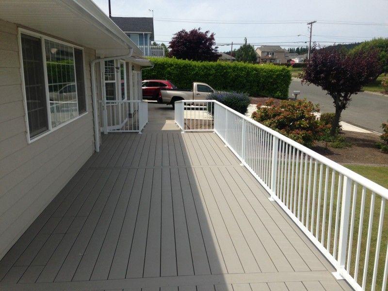Recycled Material For Veranda Flooring