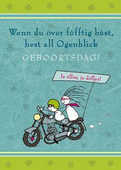 Motorrad Plattdeutsch Geburtstag über 50 Gedichte Und