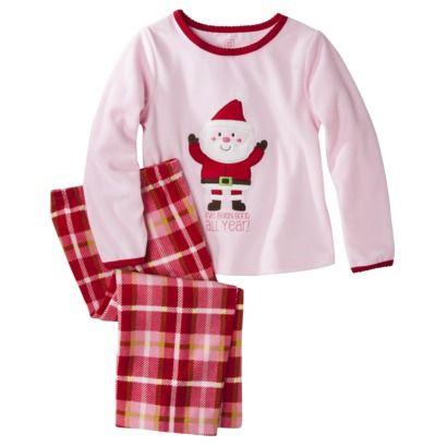 20ef427cabd1 Just One You® by Carter s® Infant Toddler Girls  Santa Pajama Set ...
