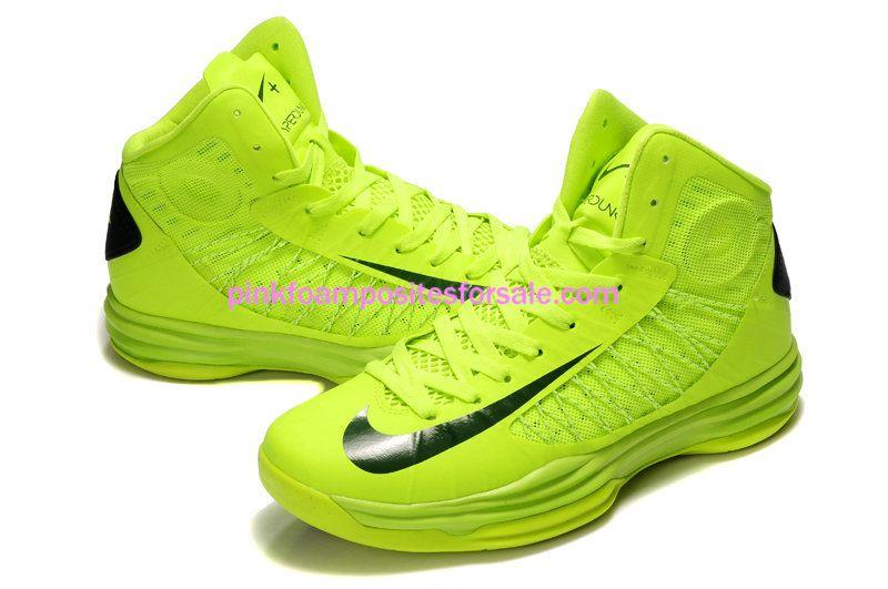 size 40 b2835 64928 Nike Lunar Hyperdunk 2012 Team Brazil Volt Gorge Green 535359 700  Volt   Womens  Sneakers