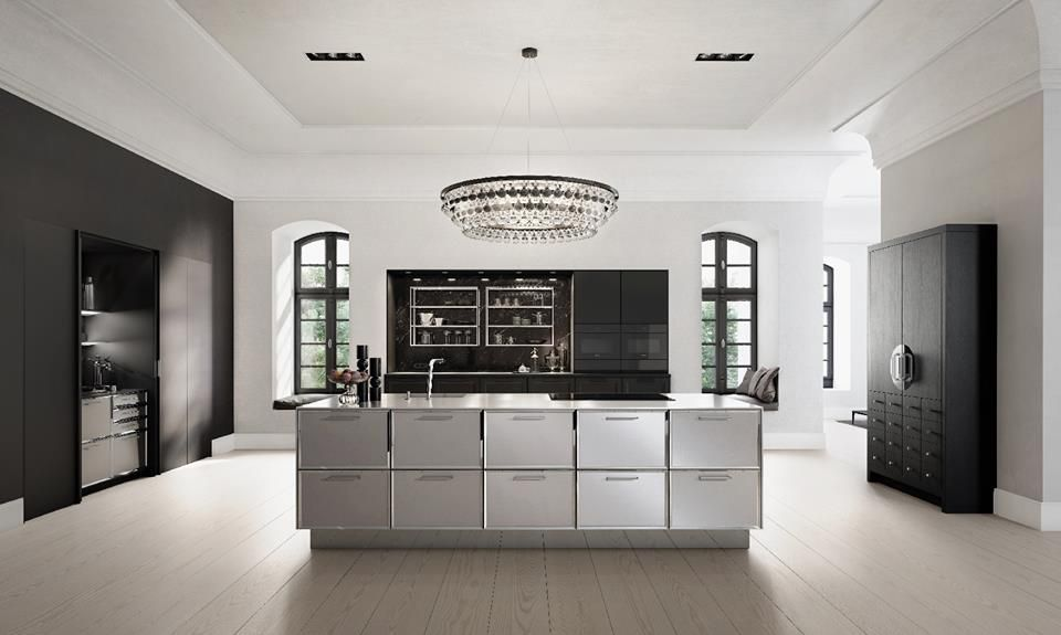 Cocinas elegantes #EspacioHomeDesignGroup Inspiración para tu - cocinas elegantes