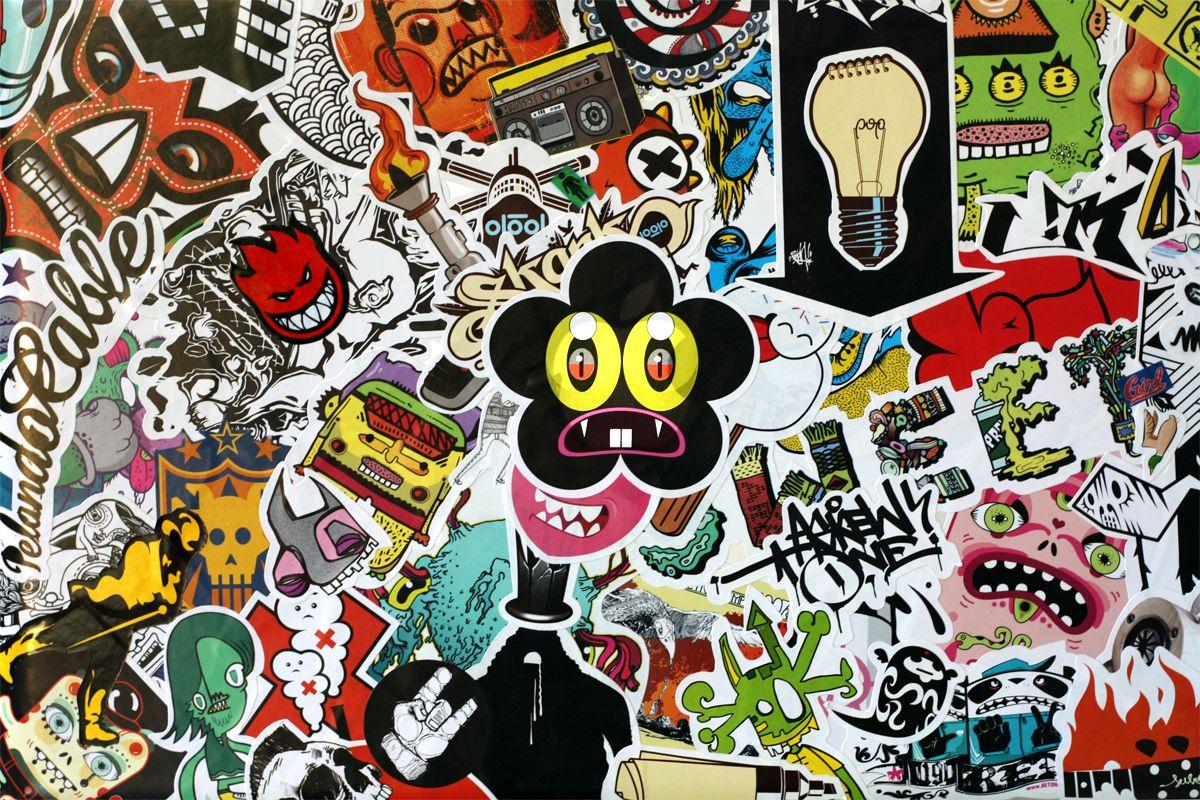 sticker bomb hd wallpapers download free sticker bomb