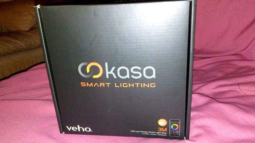 Veho kasa bluetooth smart lighting led light strip 98ft light veho kasa bluetooth smart lighting led light strip 98ft mozeypictures Images