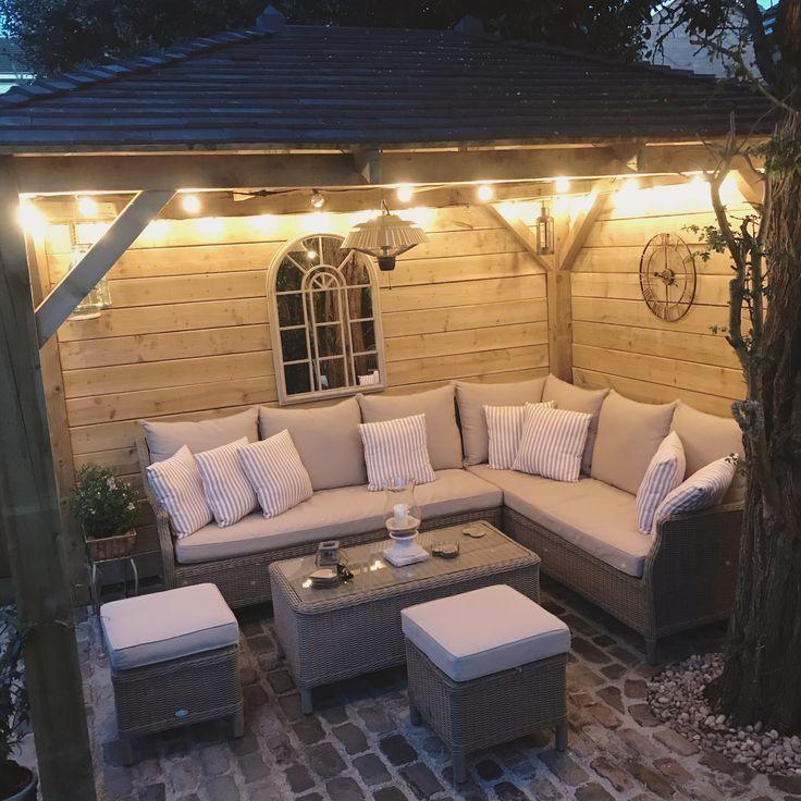 Photo of Abendgarten, Pavillon, Beleuchtung, kleiner Garten, Geselligkeit im Freien – Tea