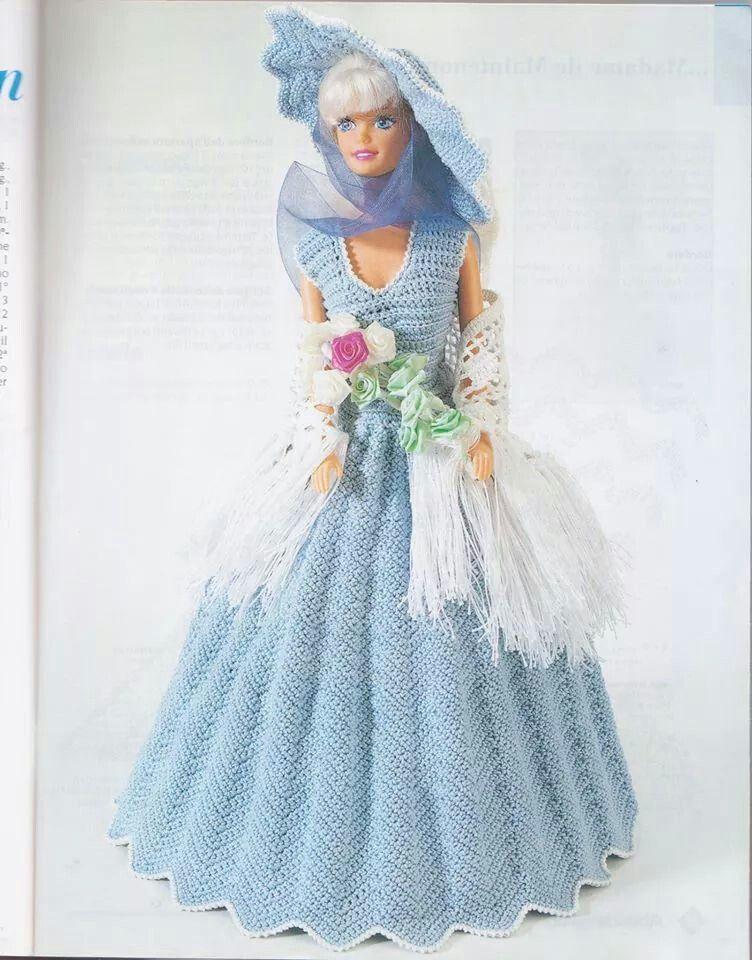 Barbie azzurro