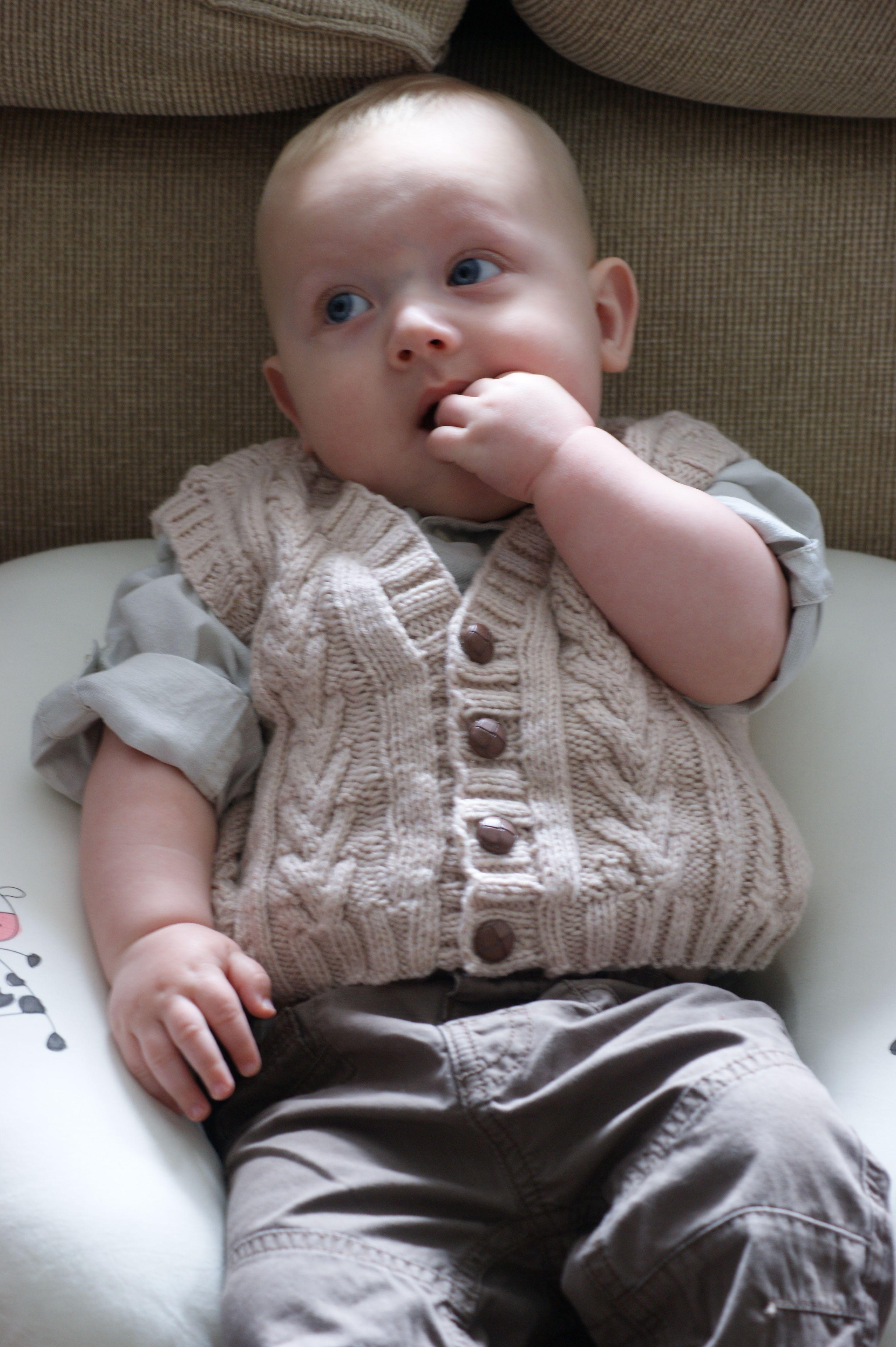 Sirdar pattern - Waistcoat | Baby knitting patterns, Baby ...