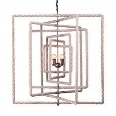 www.remodelstudio.com Restoration Warehouse Eclips Chandelier - Square