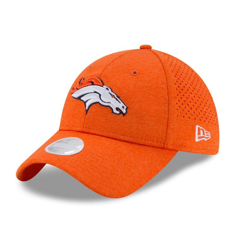 timeless design c03a6 ed588 Denver Broncos New Era Women s 2017 Training Camp Official 9TWENTY  Adjustable Hat - Orange