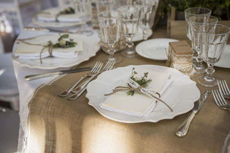 Mise en place romantic wedding by romina fleurandflower - Matrimonio shabby chic idee ...