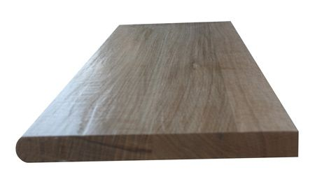 Best Prefinished Hand Scraped Quartersawn White Oak Stair Tread 400 x 300
