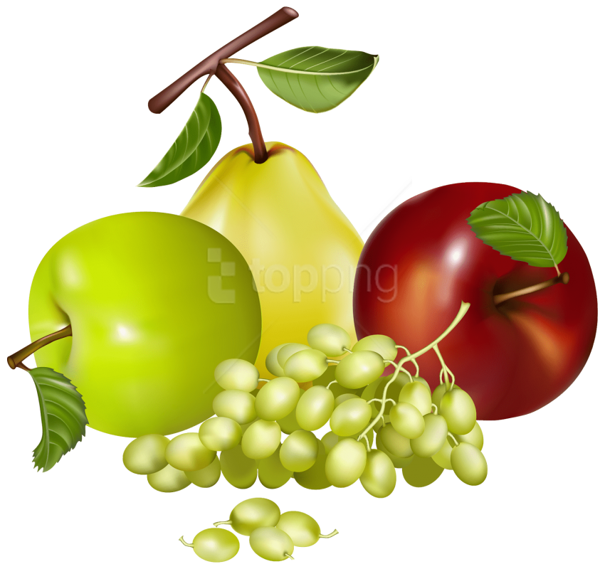 Download Mixed Fruits Clipart Png Photo Png Free Png Images Fruit Clipart Fruit Fruits Photos