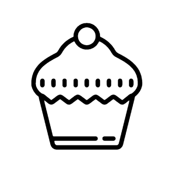 Cupcake Icon Cupcake And Other 58 800 Icons From Icons8 Icon Pack Follow The Visual Guidelines Of The Operating Systems Window Cupcake Icon Icon Android Icons