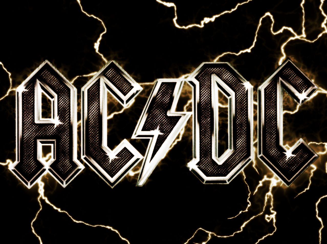 Ac Dc Logo Wallpapers Acdc Logo Acdc Wallpaper Acdc