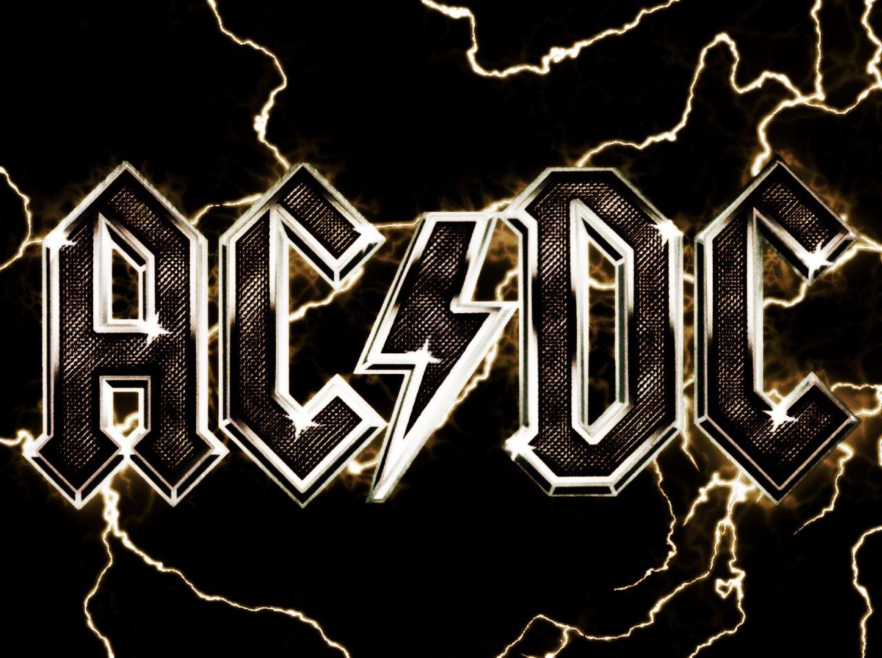 Acdc Logo Ac Dc Logo Wallpapers Wallpapersafari Acdc Logo Acdc Wallpaper