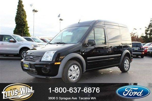 New 2013 Ford Transit Connect Xlt Van Gray Car Tacoma Ford