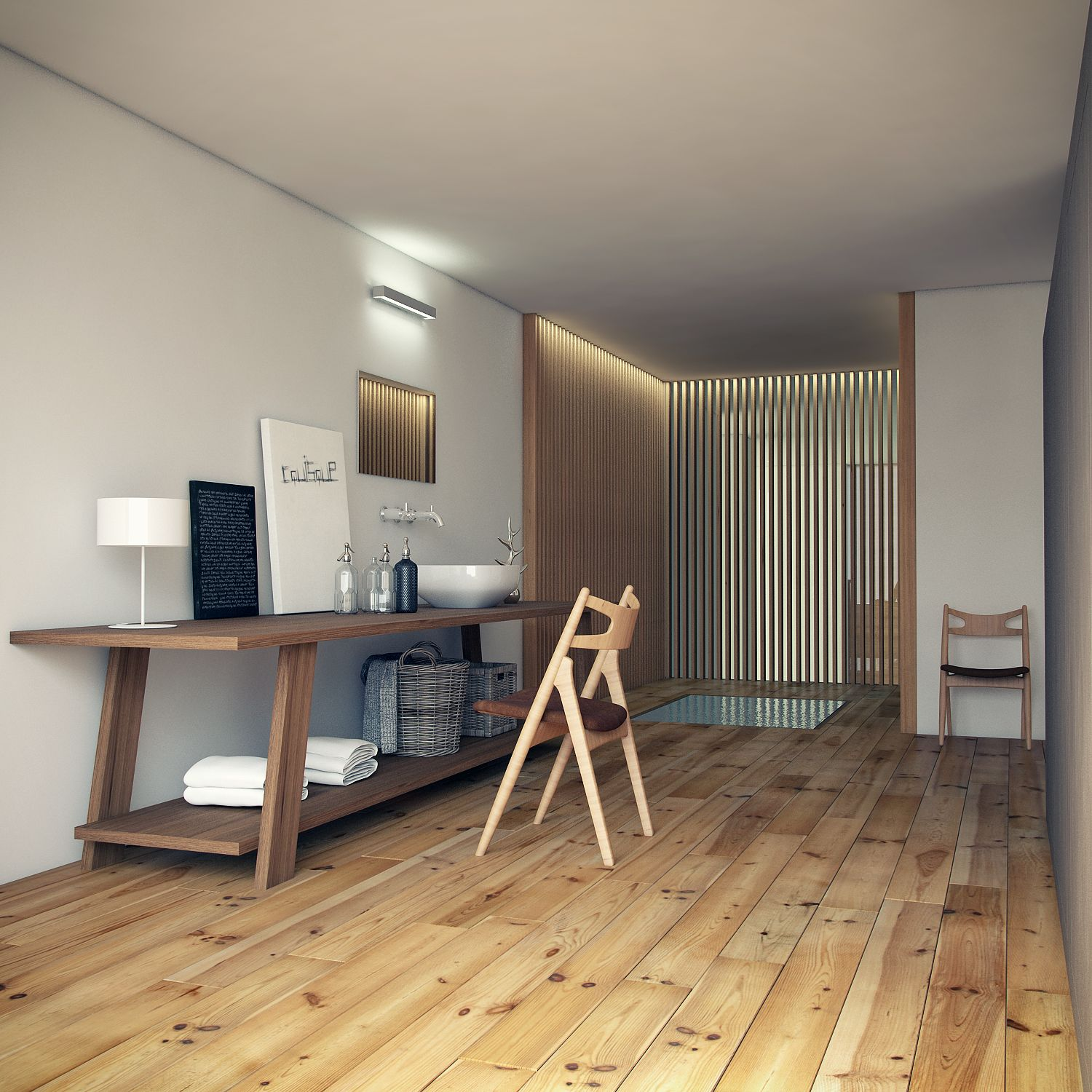 Showroom simontech interior render vray photoshop 3ds - 3ds max vray render settings interior ...
