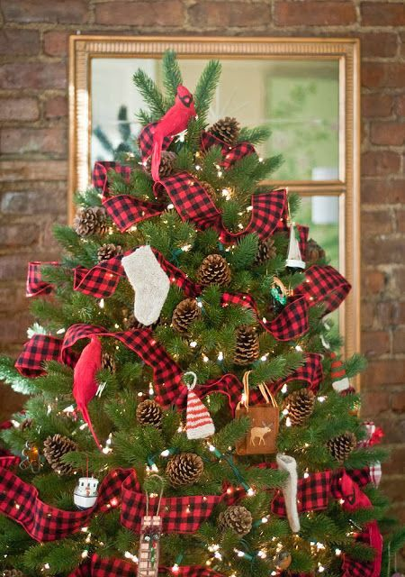 Christmas tartan decor Tartan Pinterest Christmas, Christmas