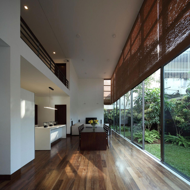 Layered Family Home In Colombo Sri Lanka By KWA Architects