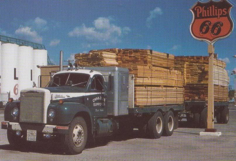 Lumber Truck n Trailer