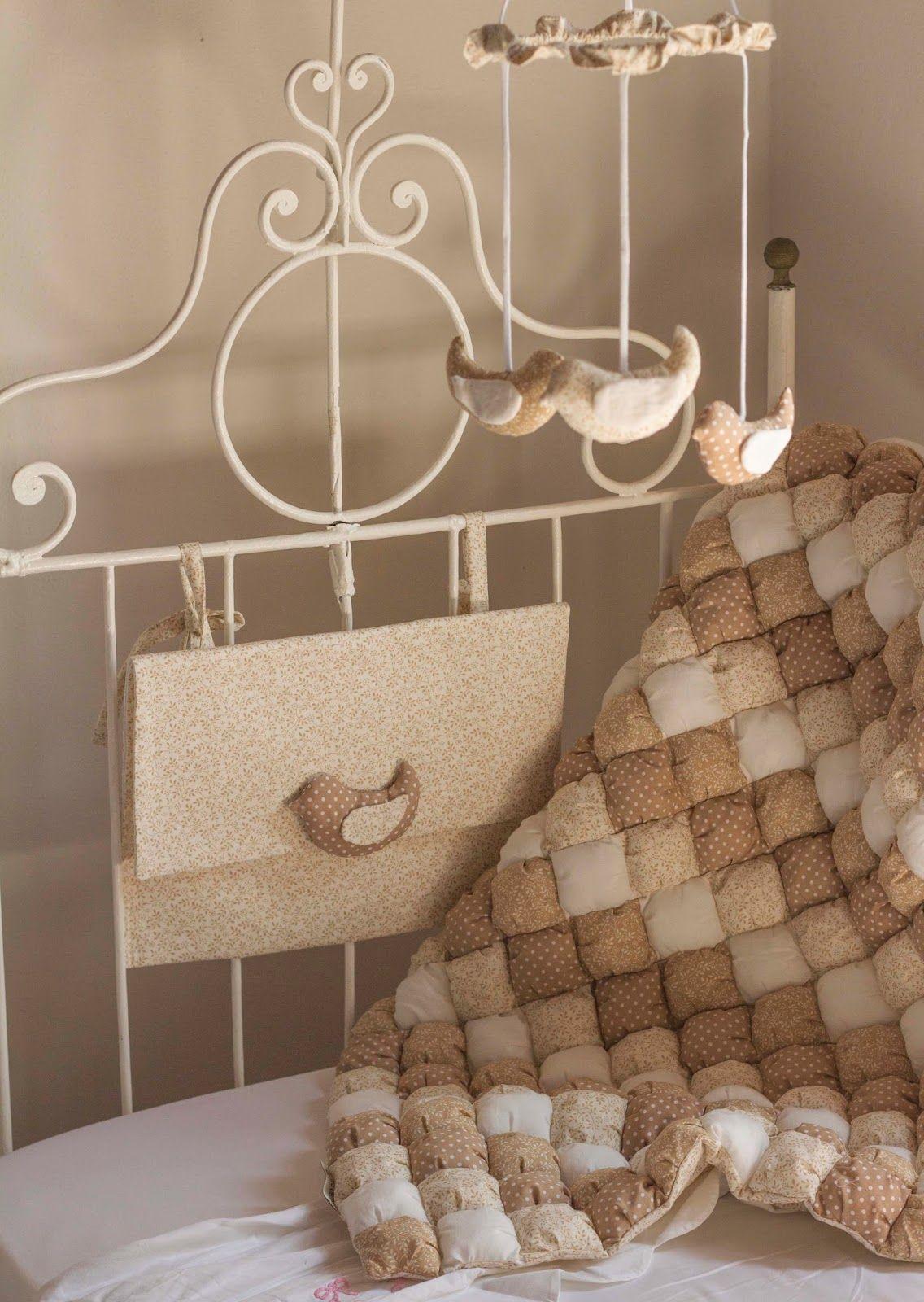 nursery bedding puff quilt
