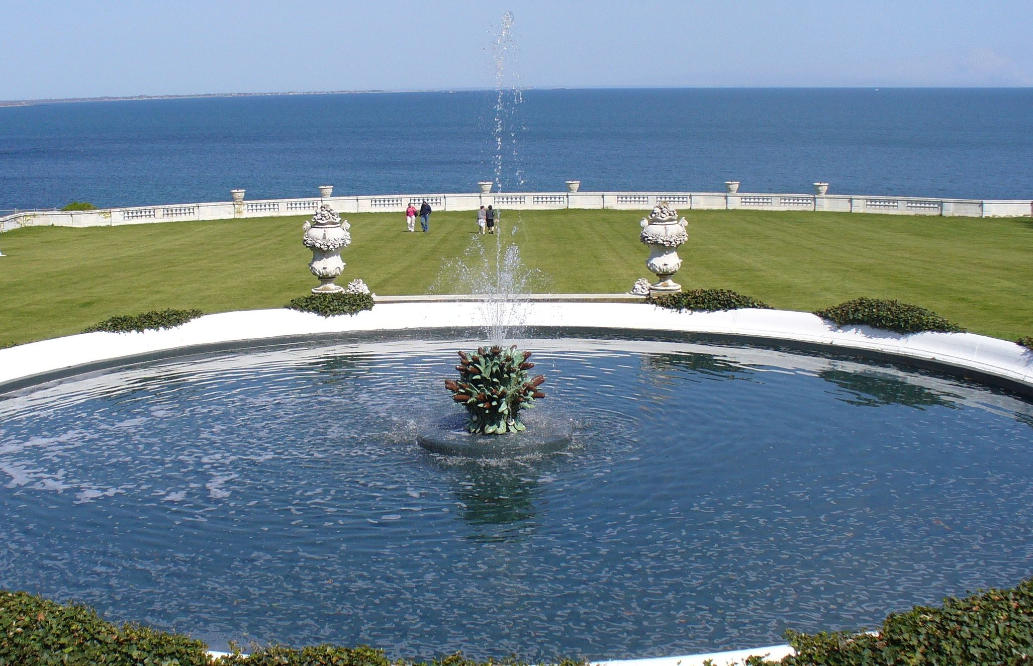 Ocean View From The Rosecliff Mansion In Newport RI 1920s Wedding ThemesWedding VenuesNewport