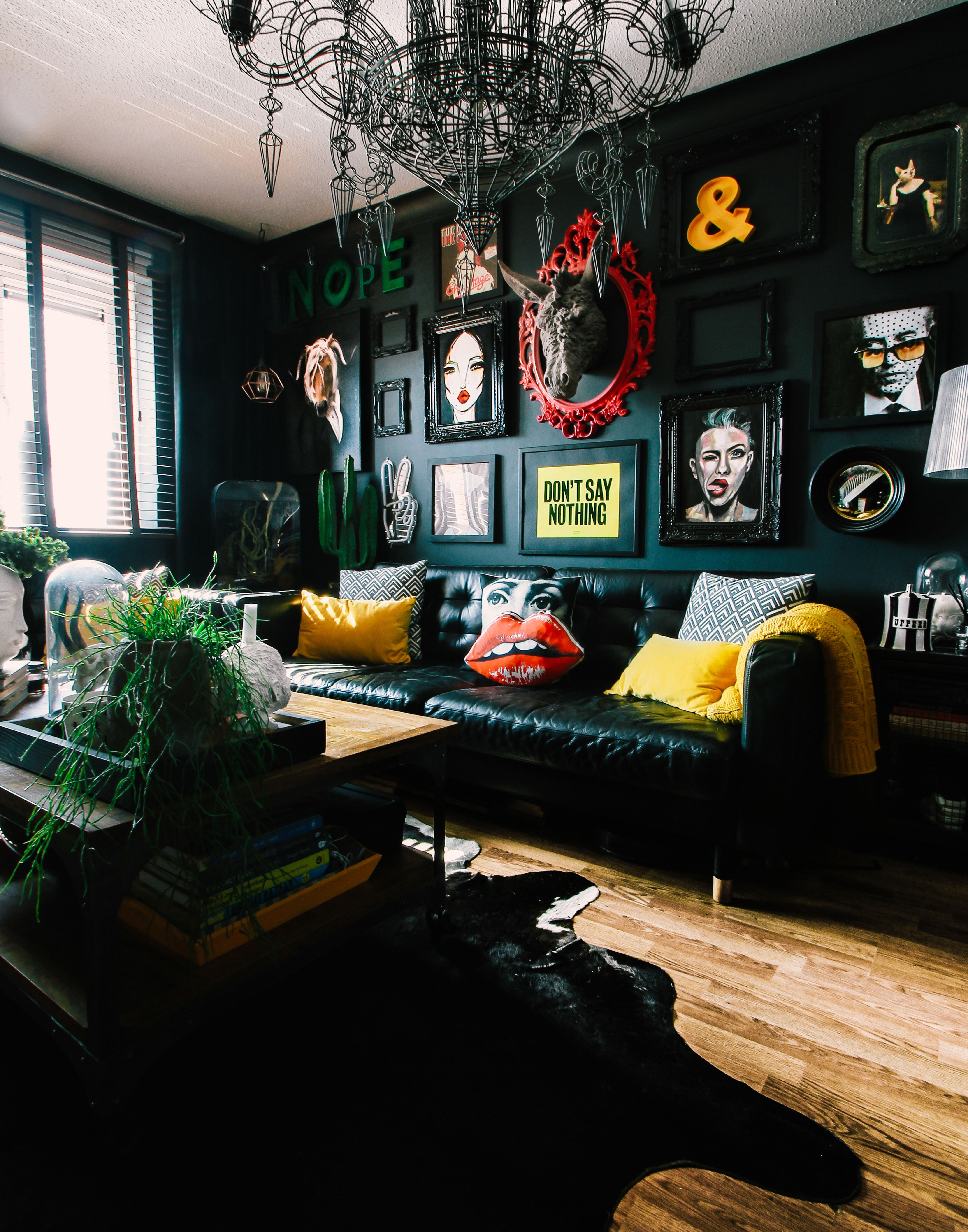 A Dramatic Welsh Home Proves You Can Go Dark And Colorful In A