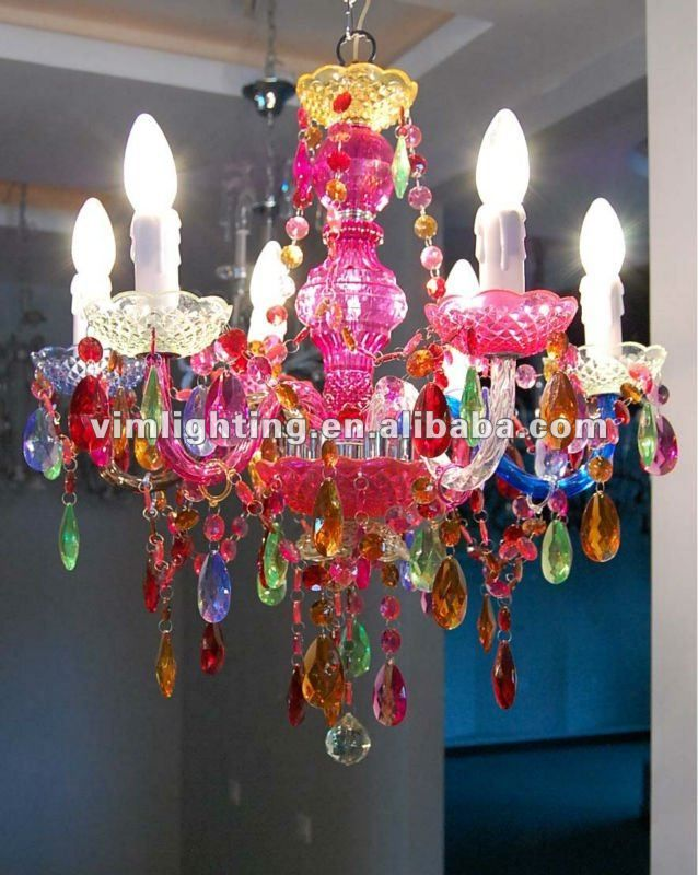 Multicolor Decorative Crystal Chandelier 8086 Buy Colorful – Color Chandelier