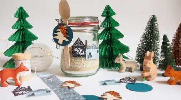 kit riz au lait offrir cadeaux etiquettes. Black Bedroom Furniture Sets. Home Design Ideas