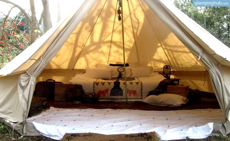 Pop-Up Gl&ing Tent Hotel in NSW Australia & Pop-Up Glamping Tent Hotel in NSW Australia | Luxury camping ...