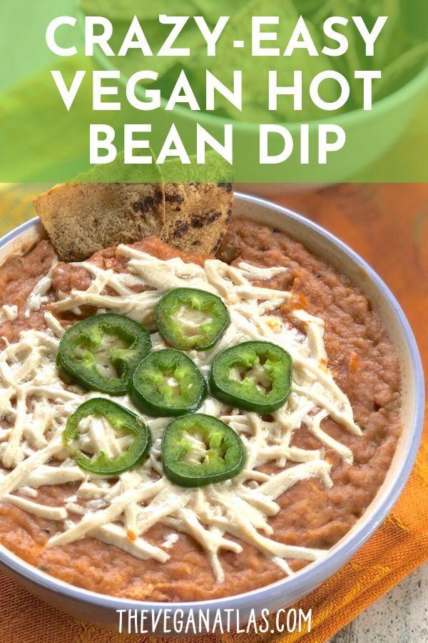 Crazy-Easy Vegan Hot Bean Dip images
