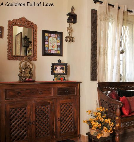 Home tour shalu prasad   creative and celestial paradise  cauldron full of love kerala also decor rh pinterest