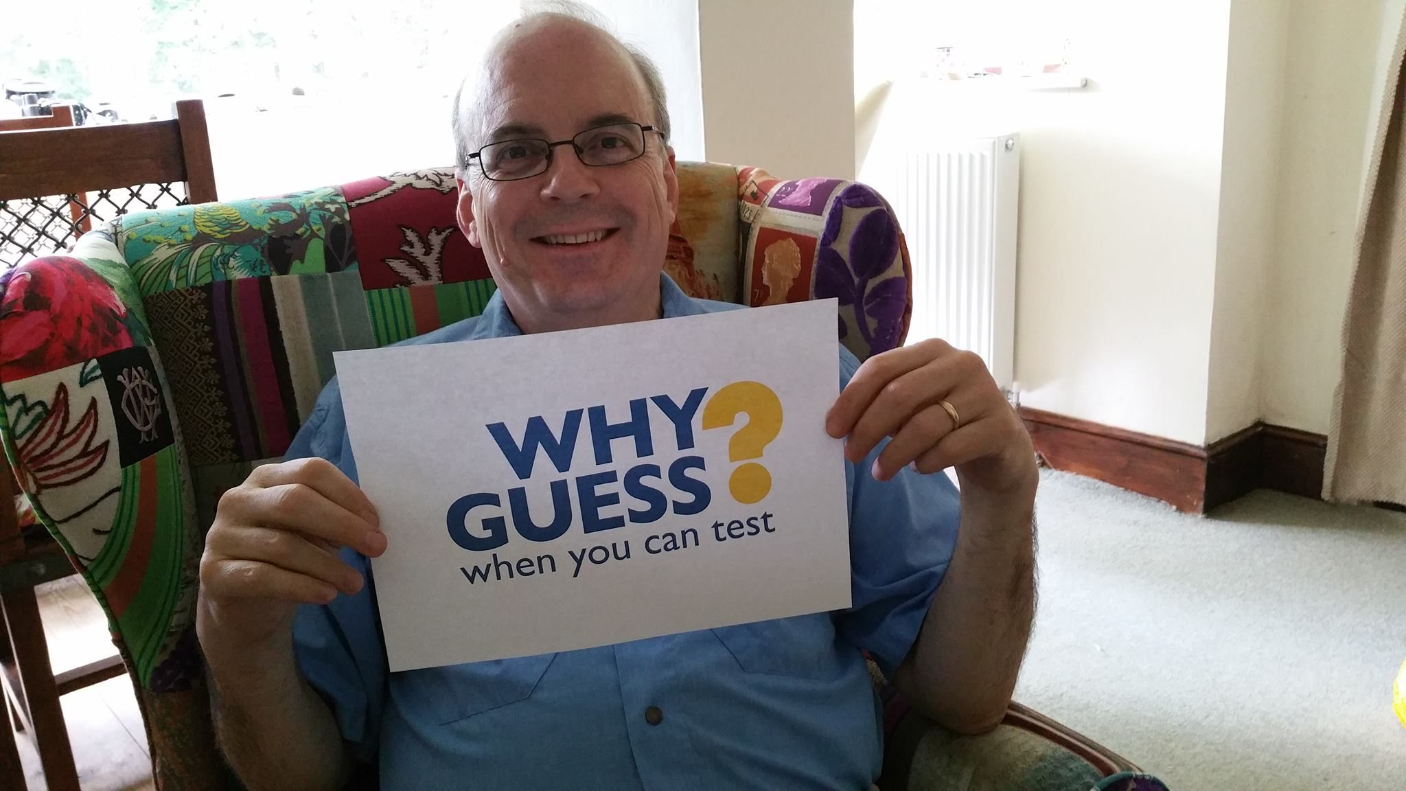 Send us your selfie with the #WhyGuess poster and tell us why you support the campaign: www.gbss.org.uk/...