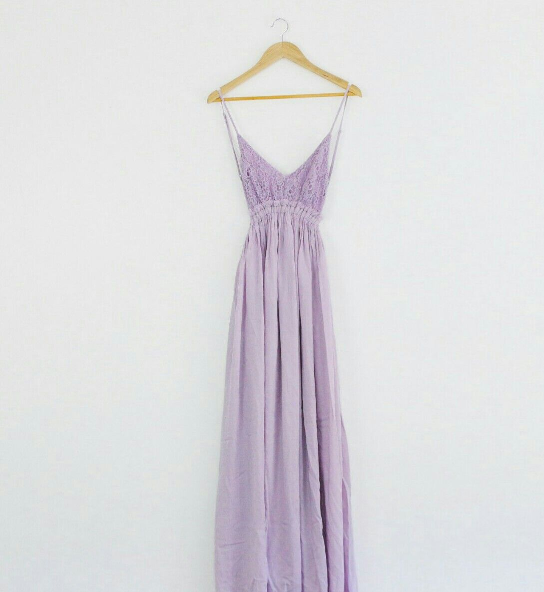 Lilac lace maxi dress #ShopAOF
