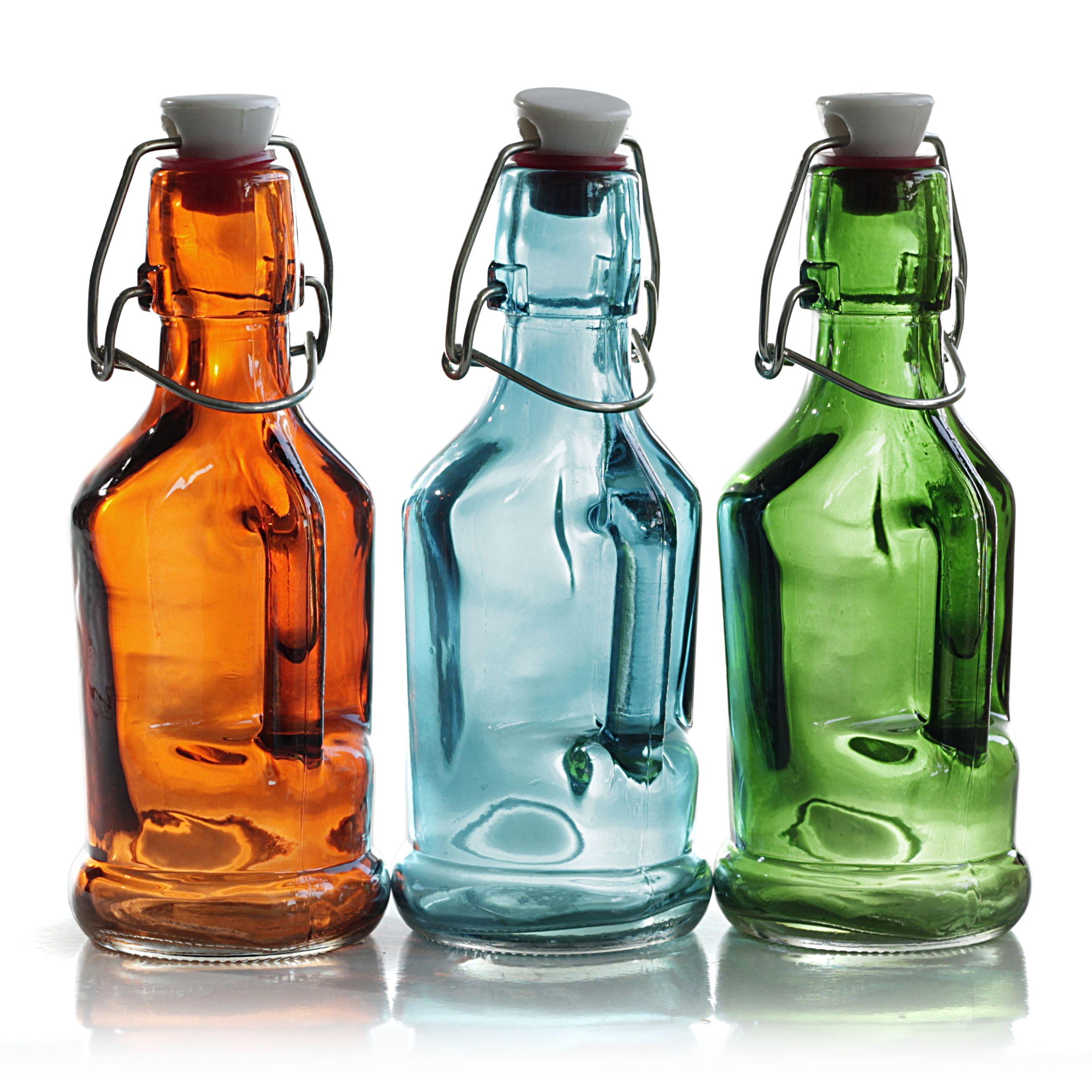 Bormioli Rocco Olivia Glass Oil & Vinegar Bottle - 7 oz | Blown ...