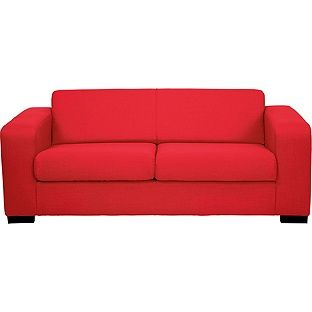 Strange Buy Hygena New Ava Fabric Sofa Bed Red At Argos Co Uk Machost Co Dining Chair Design Ideas Machostcouk