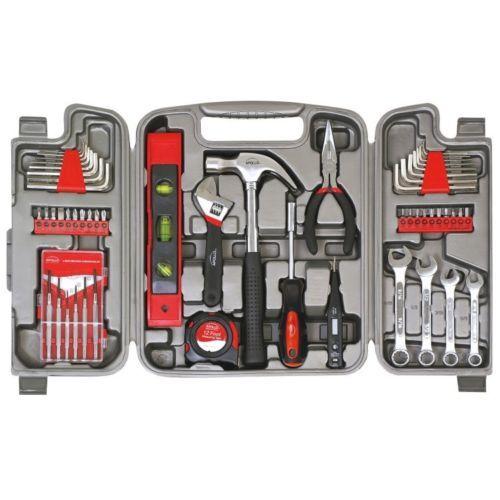 53 Piece Tool Set Household Kit Home Repair Case Fixit Precision
