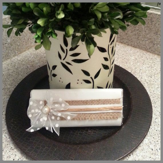 burlap Wedding favors (baptizm, first comunion and baby shower chocolate favors)(wedding candy buffet) on Etsy, $18.00