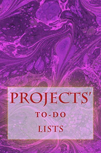 """(6"""" x 9"""" w/Glossy Cover Finish)              Projects' To-Do Lists: Stay Organized (50 Projects) by Richard B. Foster http://www.amazon.com/dp/1530461197/ref=cm_sw_r_pi_dp_Dkd5wb17XS9YM"""