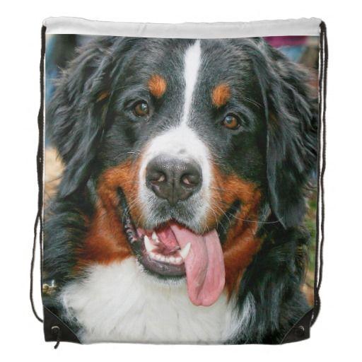 BERNESE MOUNTAIN DOG DRAWSTRING BACKPACK