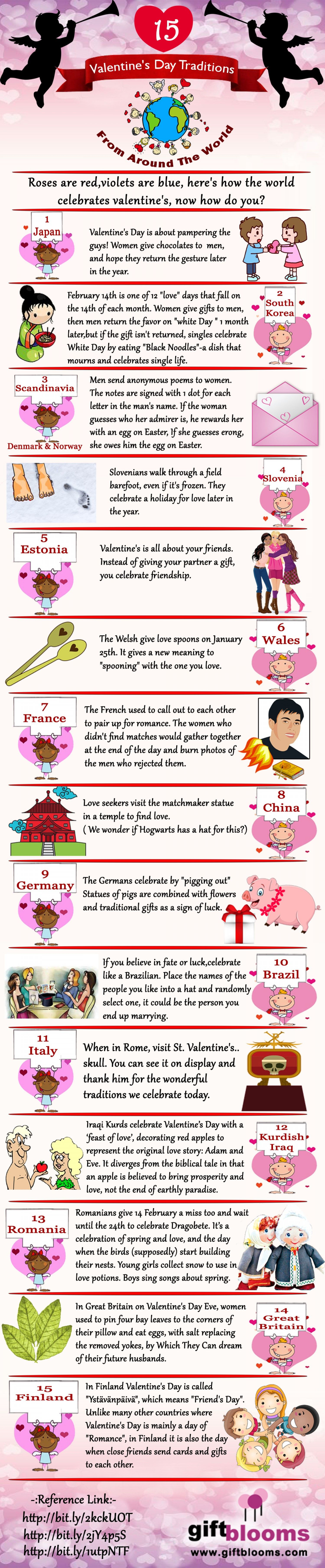Here Are 15 Weird Valentines Day Traditions Around The World That You Never Heard Before See