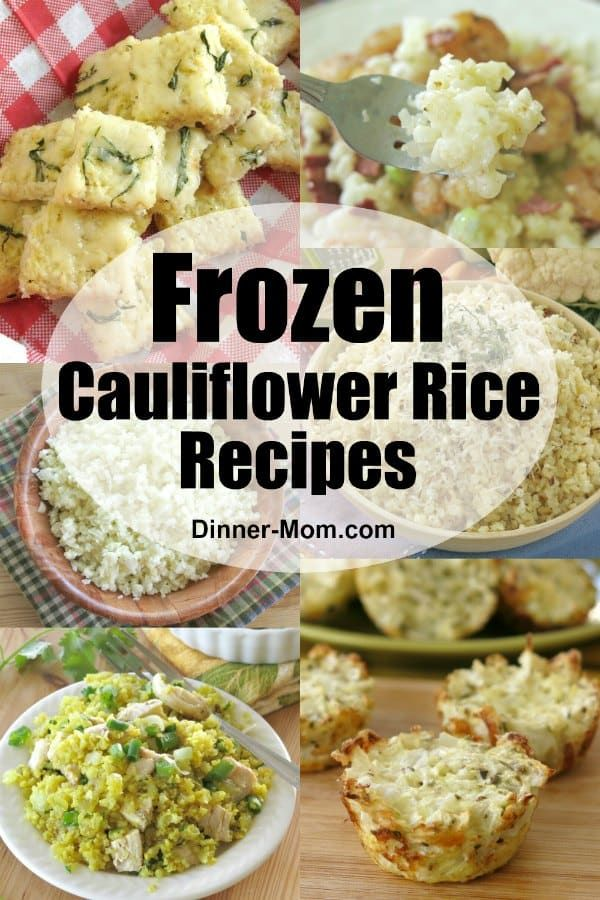 Frozen Cauliflower Rice Recipes