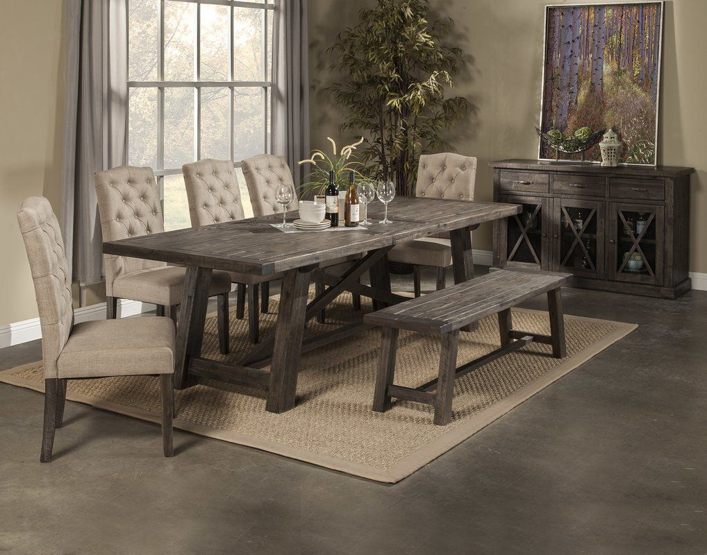 Colborne Extendable Dining Table Grey Dining Tables Dining Room