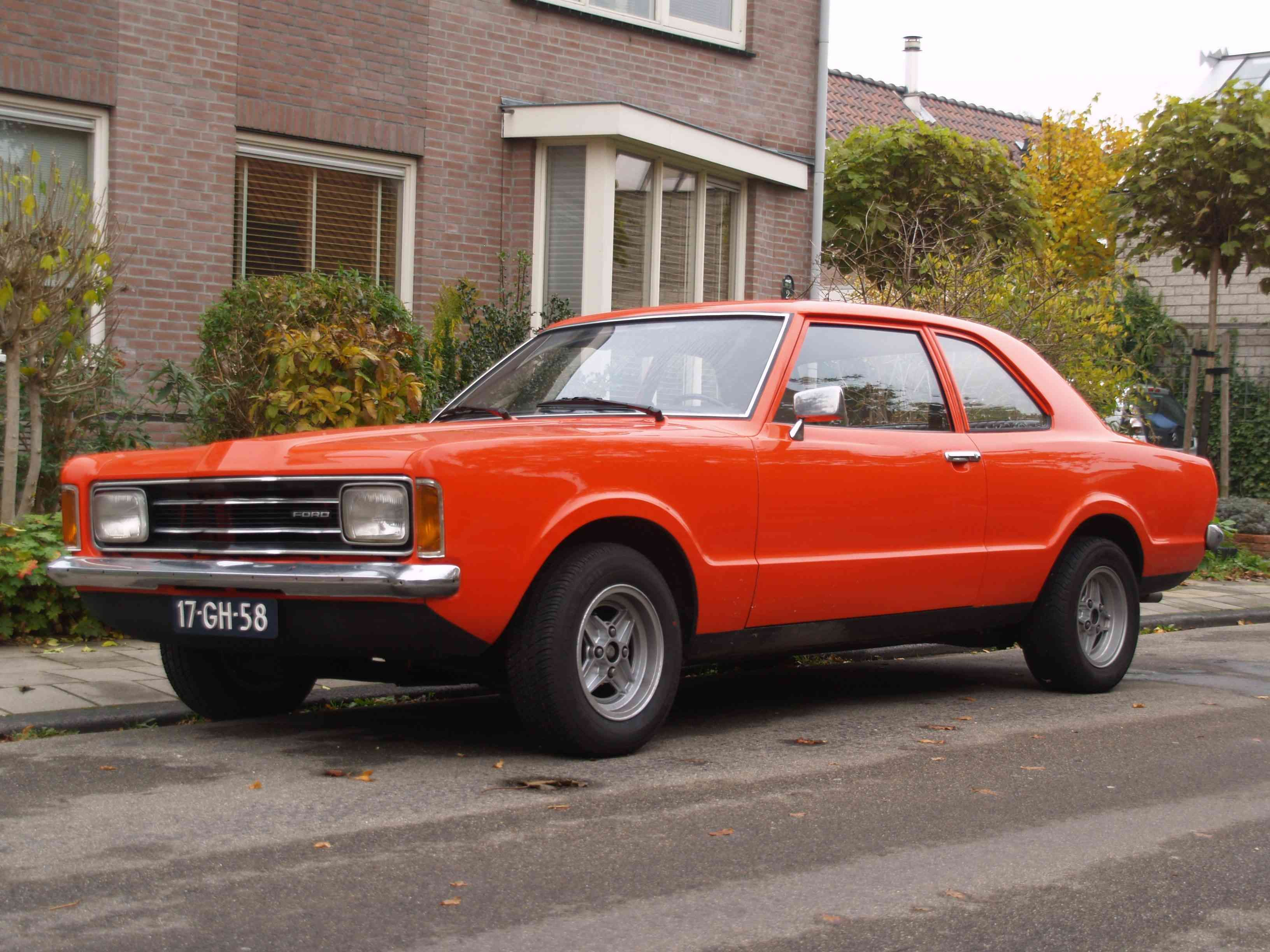 My Ford Taunus 1975 1 6 Restored By Myself Cars Uk Ford Cars