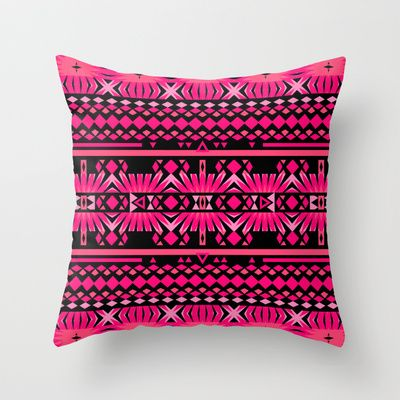Mix #559 Throw Pillow by Ornaart - $20.00