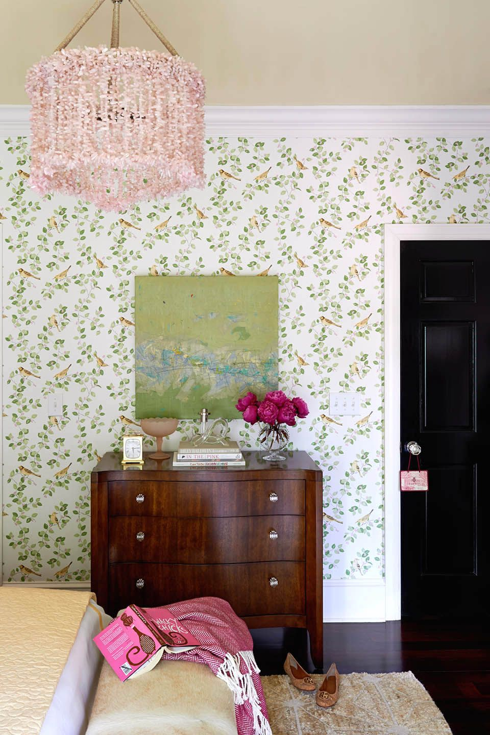 Laura ashley traci zeller evokes southern charm in for Bedroom ideas laura ashley