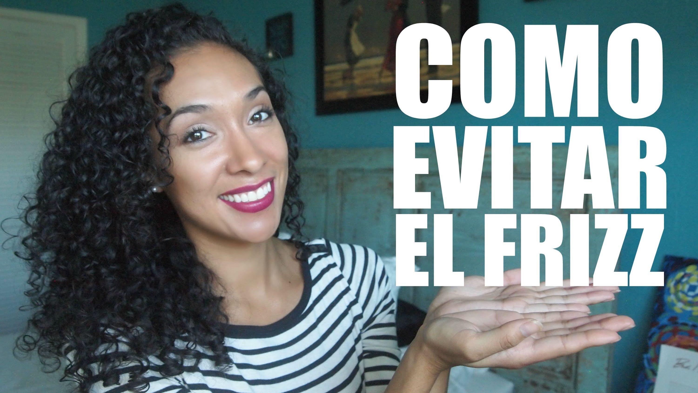 Como Evitar El Frizz | RisasRizos - YouTube